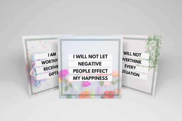 20 Affirmation cards- Feminine 2