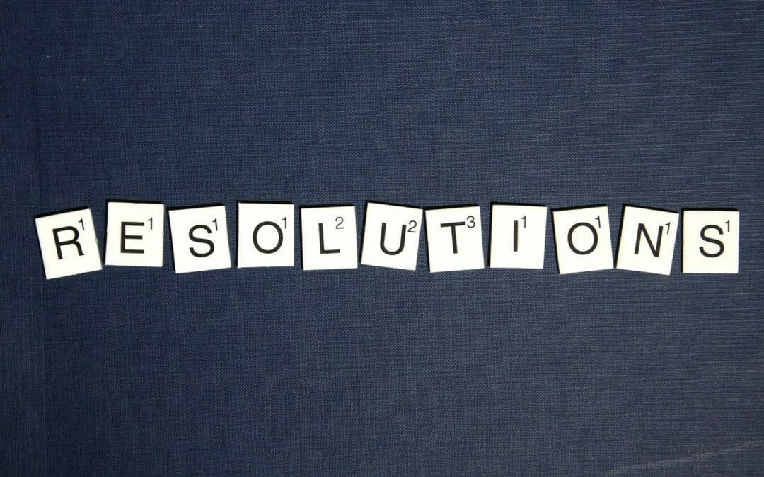 Resolutions Vs. Goals